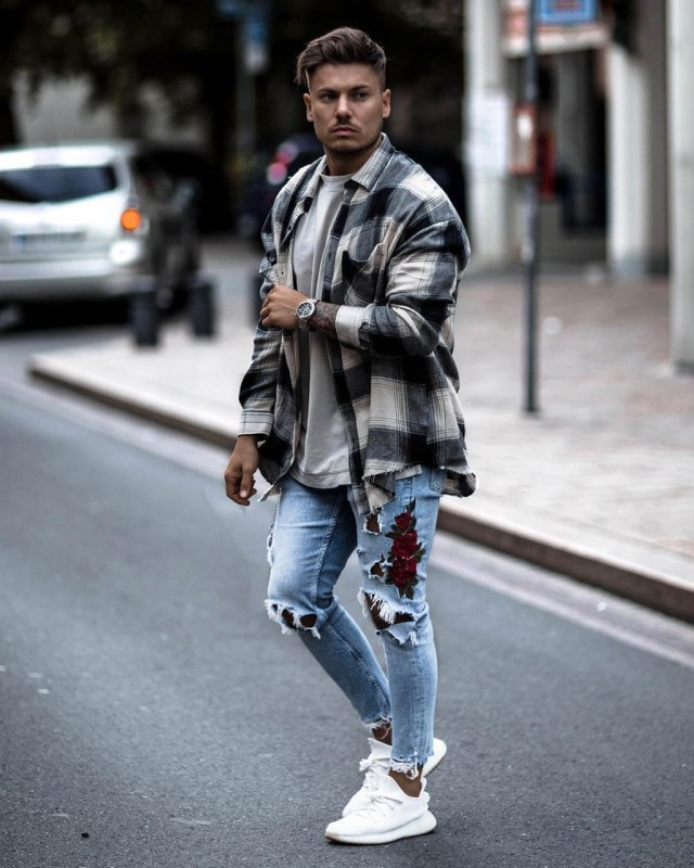 Outfit masculino de outono