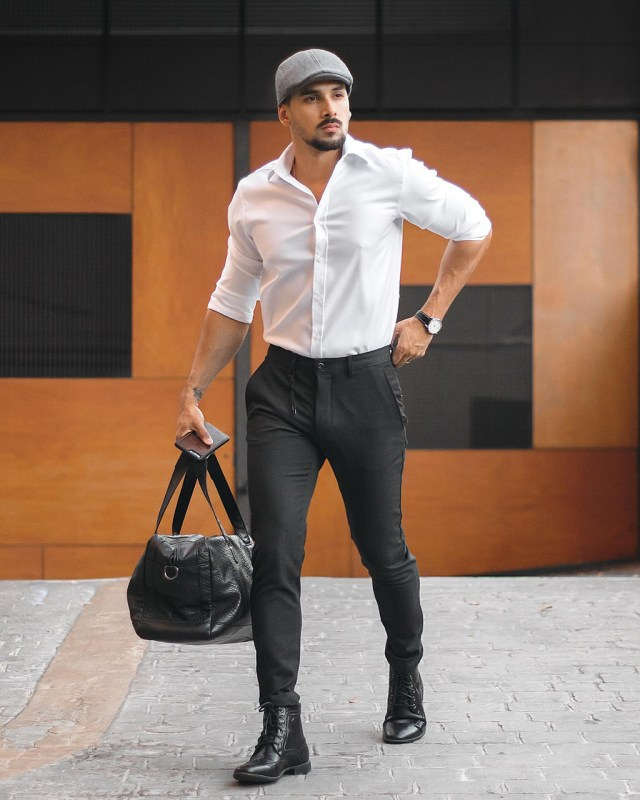 Acessório masculino: como usar boina italiana