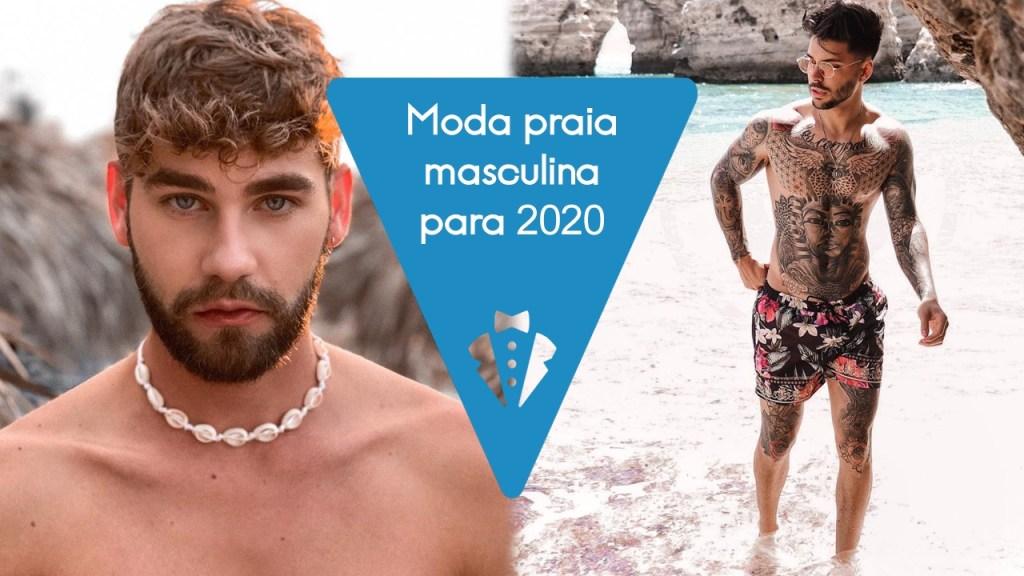 Moda praia masculina 2020