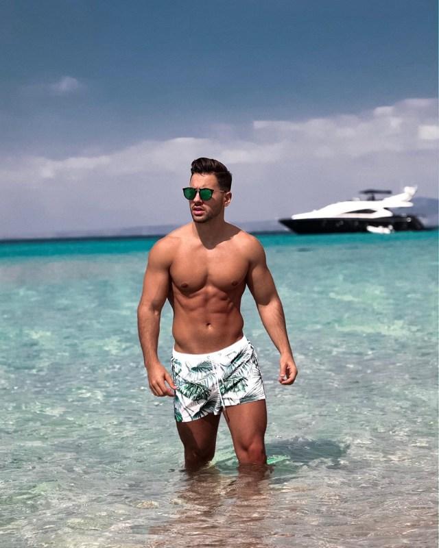 Moda masculina de praia