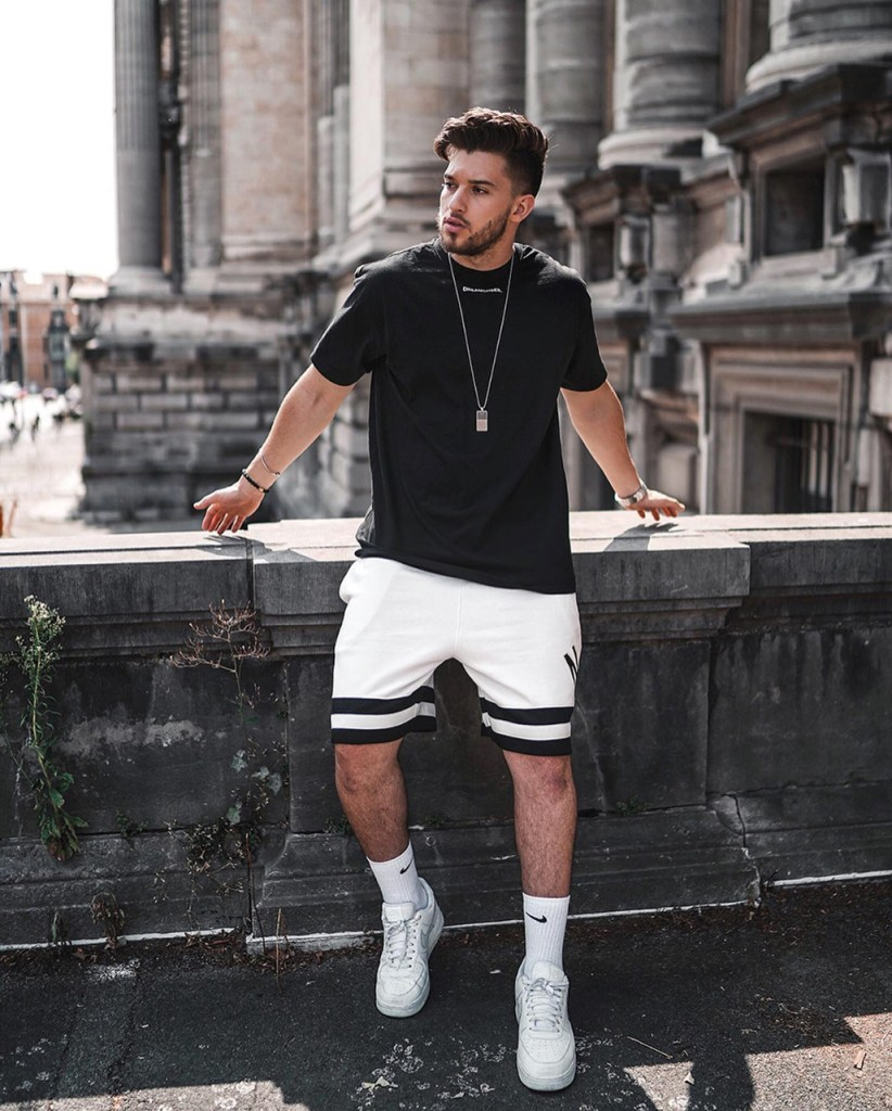 Shorts Jersey masculino