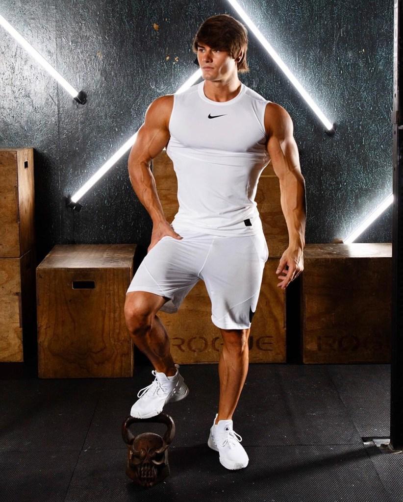 Moda para homens: roupa de academia