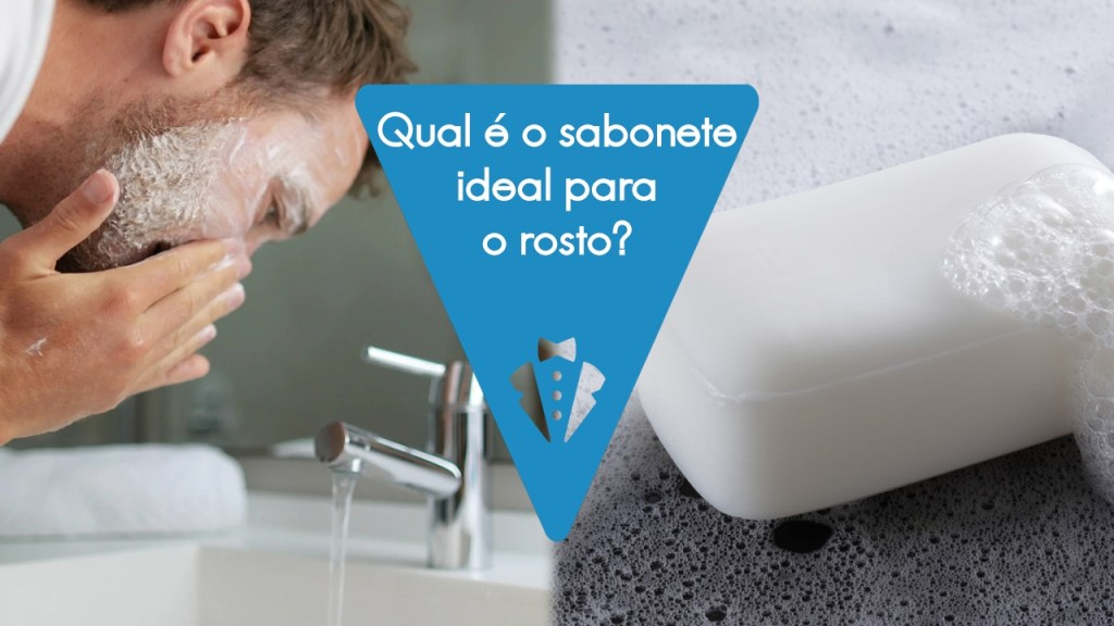 Sabonete ideal para lavar o rosto