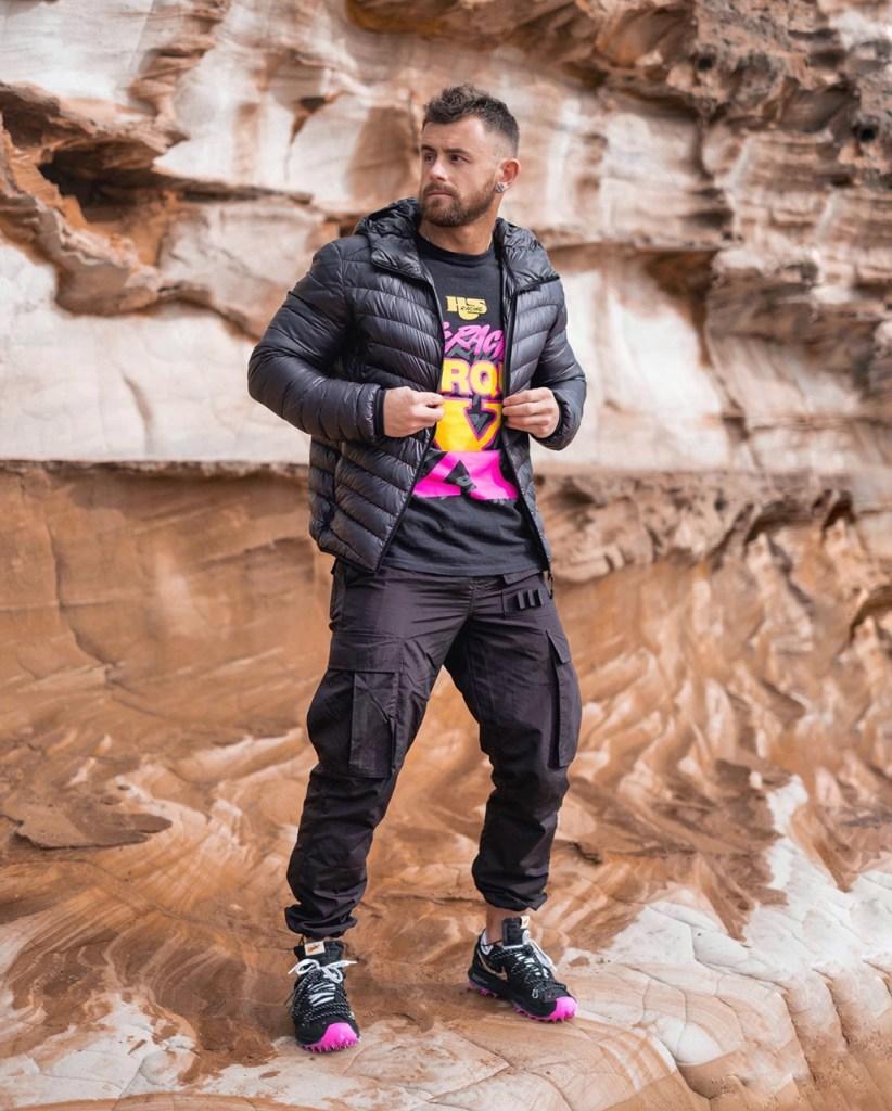 Moda masculina: jaqueta puffer