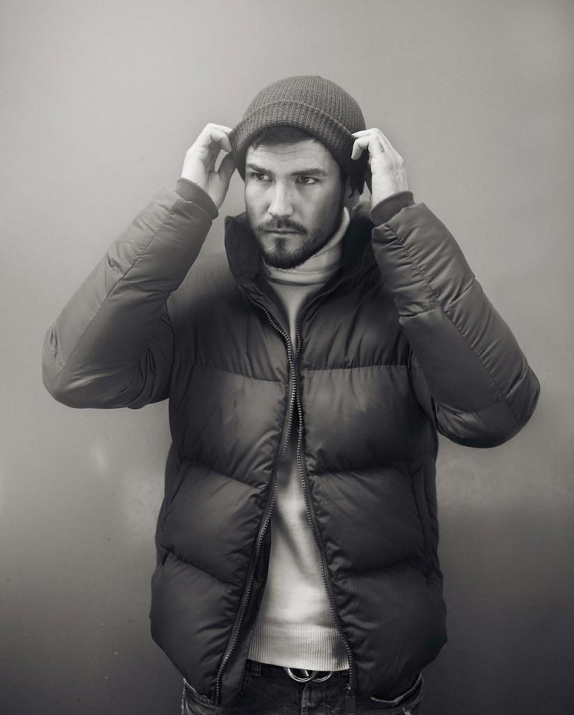 Men's fashion - puffer jacket
