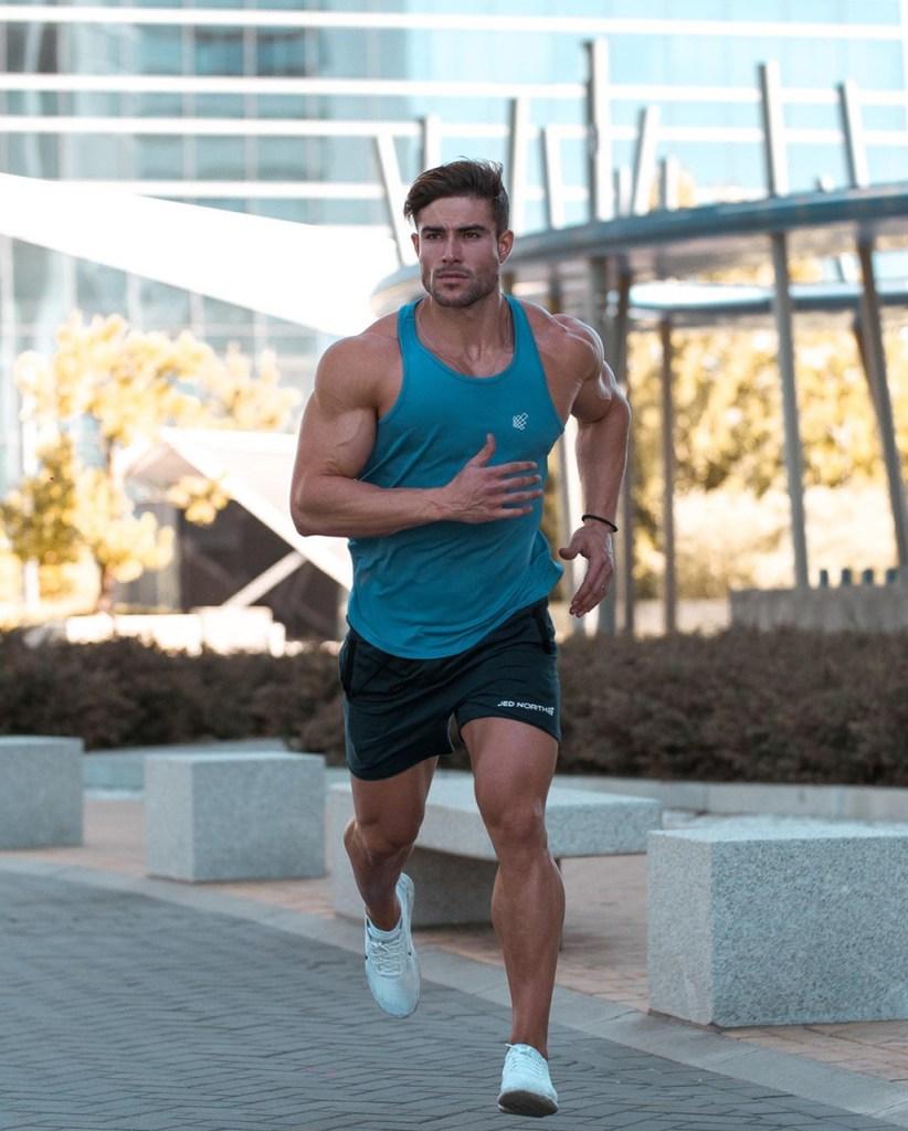Gymwear: roupa masculina de academia