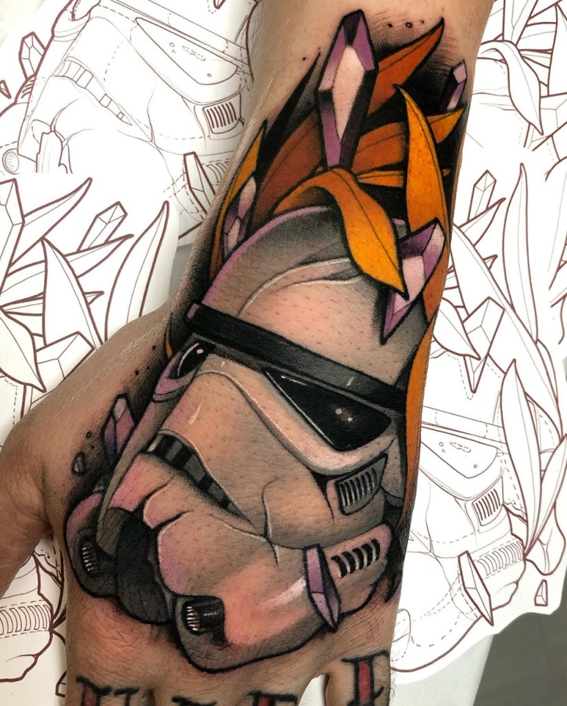 Stormtrooper tattoo - Star Wars