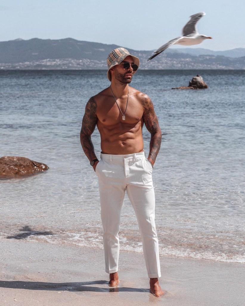 Outfit masculino de verão