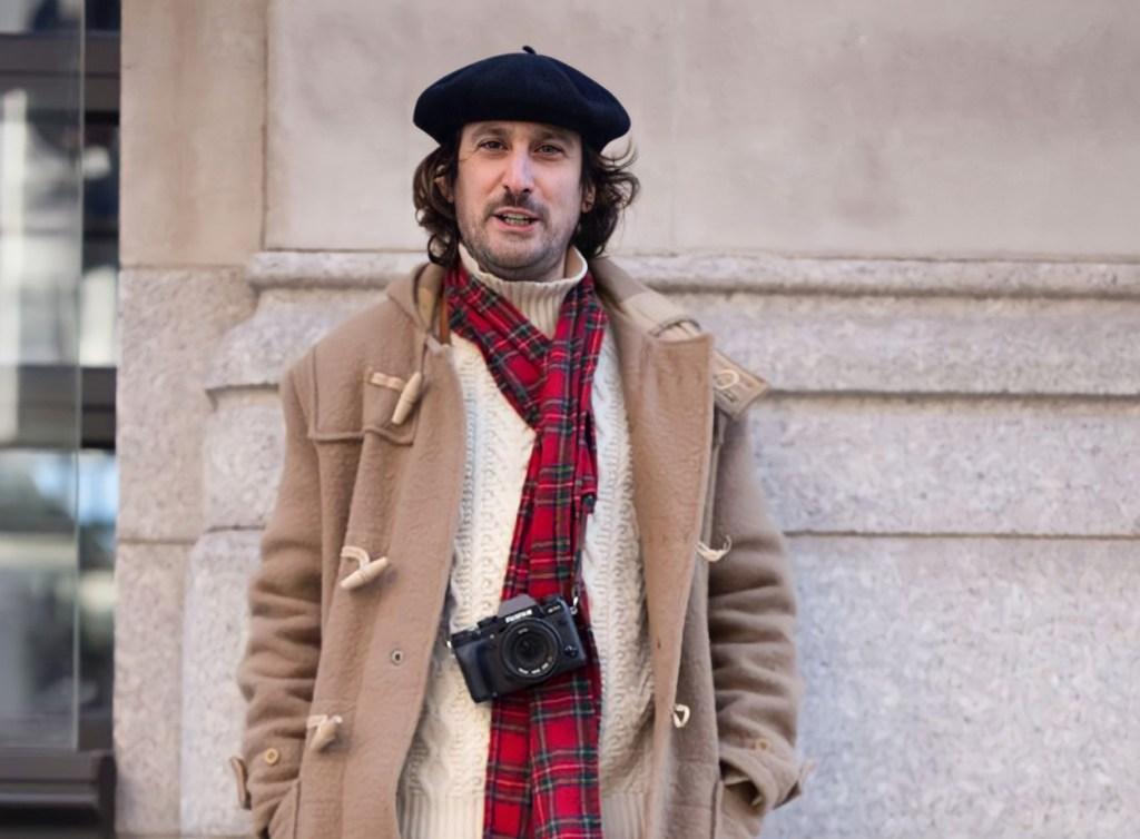 Chapéus da moda masculina: boina