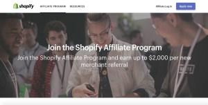 Shopify Affiliates