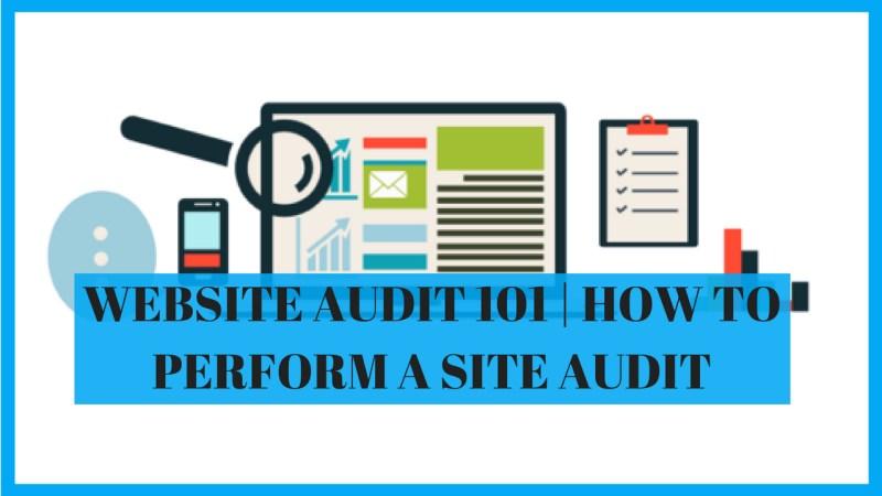 site audit 101
