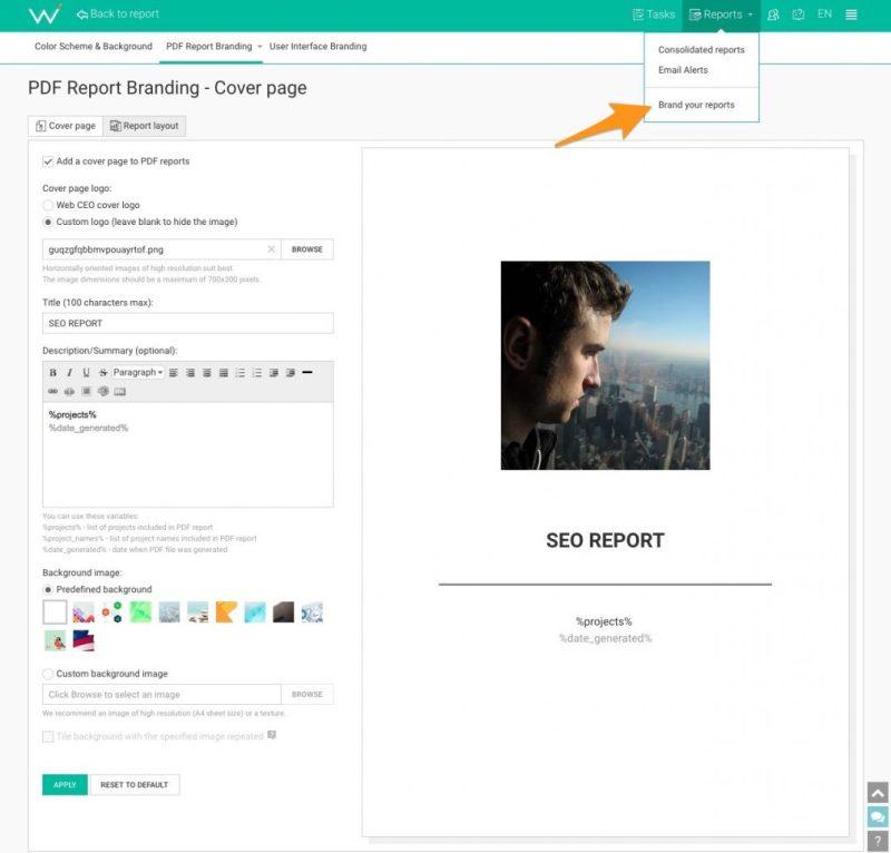 report personalizzati