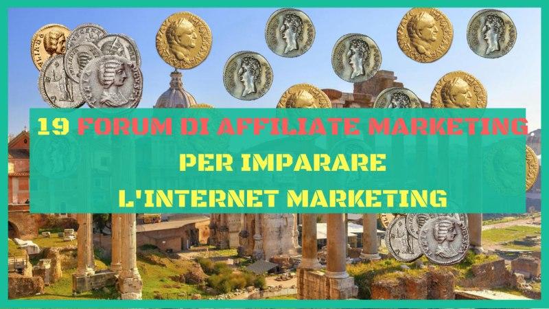forum di affiliate marketing