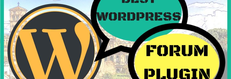 wordpress forum plugin