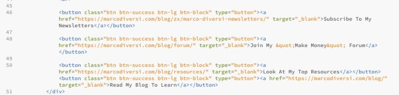 bottoni bootstrap