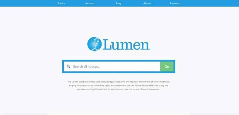 lumen database