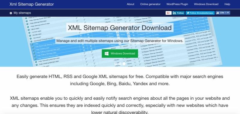 sitemap generator 1
