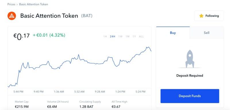 coinbase bat token