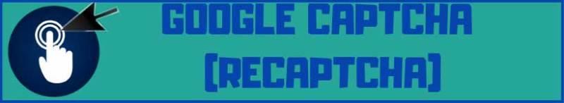 google captcha recaptcha