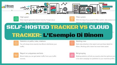 self hosted tracker esempio di binom
