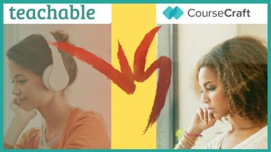 teachable vs coursecraft come creare un corso online