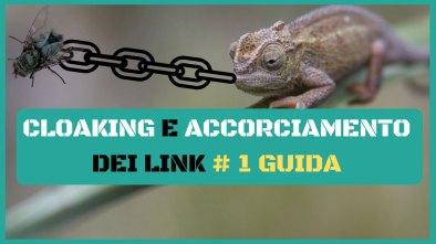 cloaking e accorciamento dei link guida