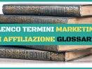 glossario marketing affiliazione