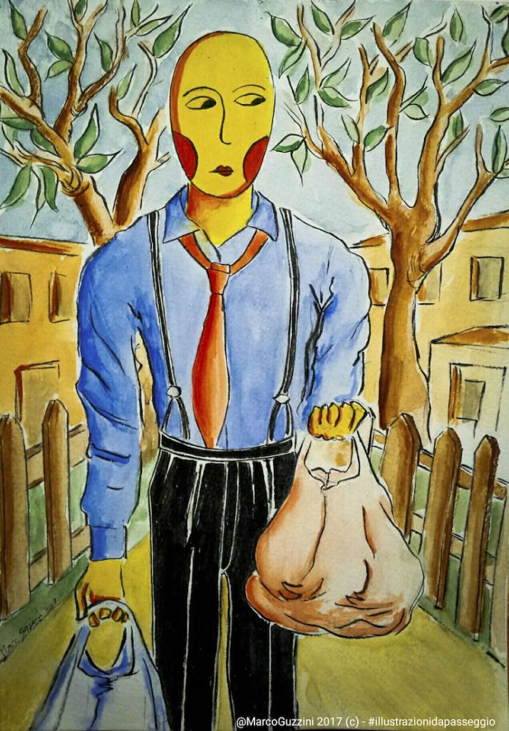 10 clienti per il signore delle domade - #illustrazionidapasseggio