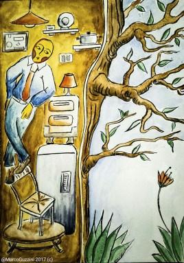 Illustrazione da passeggio Monolocale Verticale illustration
