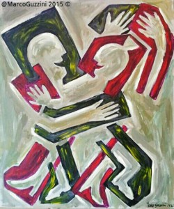 Pittura, Quadro Marco Guzzini Dancing