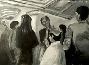 Pittura, Quadro Marco Guzzini L'ospite