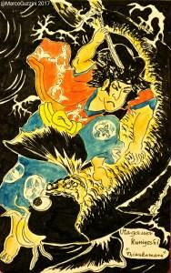 sketchbook - kuniyoshi - giappone - oniwakamaru