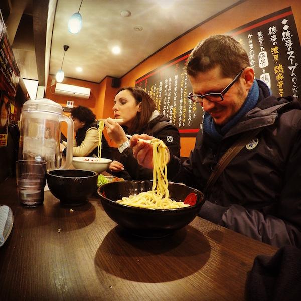 Cena a Tokyo - Ramen - Giappone