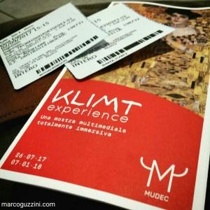 Biglietti ingresso Klimt Experience Milano MUDEC