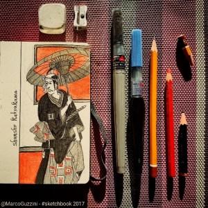illustrazione dal mio sketchbook