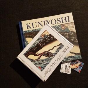 Immagine puzzle mostra kuniyoshi Milano