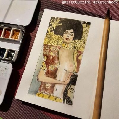 sketchbook Klimt