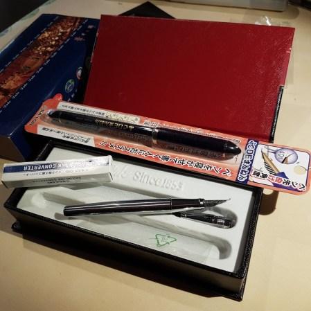 penne stilografiche per disegnare