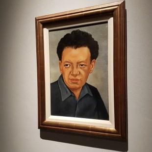 la mostra di frida Kahlo a Milano - il volto di Frida Kahlo Diego Rivera