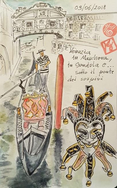 disegnare a Venezia , un giorno a Venezia, Ecco i miei appunti illustrati da un viaggio a Venezia