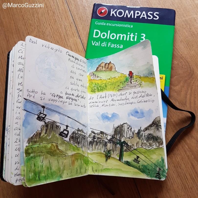 Trekking Val di Fassa, il giro del Ciampac