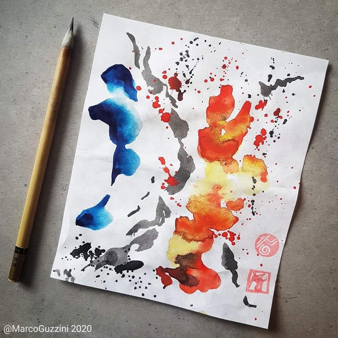 Meditazione e Pittura