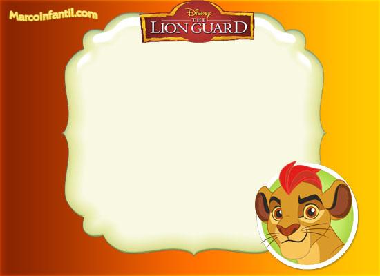 Guardia del Leon Imprimibles para descargar gratis - La Guardia del Leon tarjetas - Guardia del Leon stickers - guardia del leon etiquetas