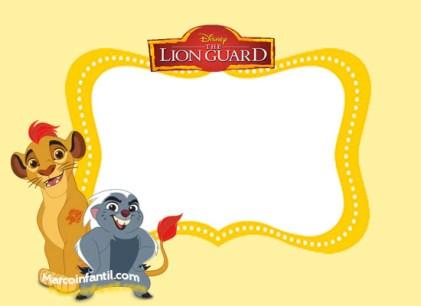 tarjetas-la-guardia-del-leon-invitaciones-la-guardia-del-leon-pegatinas-guardia-del-leon-marcos-de-la-guardia-del-leon