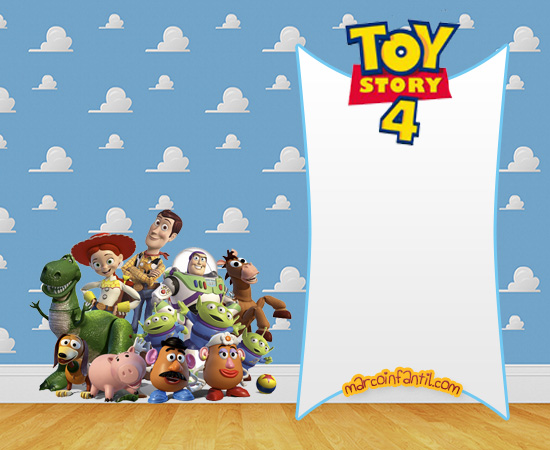 marcos infantiles de toy story - toy story 4 -imprimibles toy story 4 -imagenes toy story 4