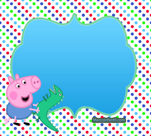 Stickers George Pig