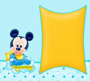 Imprimibles MIckey Baby - imagenes Mickey baby - imprimibles mickey bebe - marcos de mickey bebe