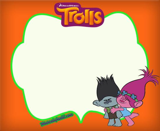 Invitaciones De Trolls...