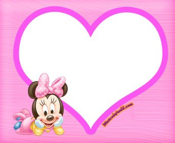 etiquetas minnie baby - stickers minnie baby - imprimibles minnie bebe - pegatinas minnie bebe para descargar gratis