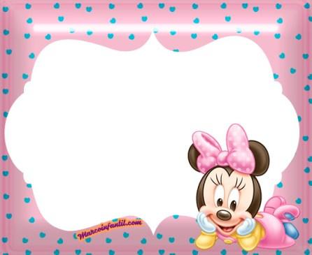 minnie baby imagenes - imagenes minnie bebe - marcos de minnie baby - marcos infantiles de minnie - minnie primer añito